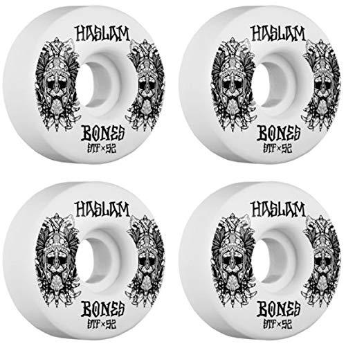 Bones Wheels Chris Haslam Pro STF Ragnar V3 スケートボードホイール - 52mm 103a (4個セット)   B07JQBMZ2C