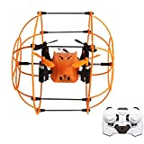 Best Drone With Climbing - Wall Climbing Drone,ToyPark 2.4GHz 6 Axis Gyro Wall Review