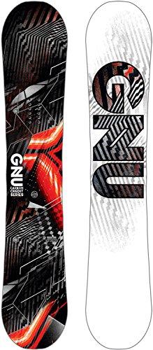 All Terrain Carbon Snowboard - Gnu Asym Carbon Credit Snowboard Mens Sz 153cm