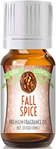 Fall Spice Scented Oil by Good Essential (Premium Grade Fragrance Oil) - Perfect for Aromatherapy, Soaps, Candles, Slime, Lotions, and More!