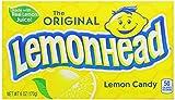 Lemonhead Hard Candy, Lemon, 6 Ounce, Pack of 12
