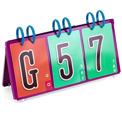 - EZ Readers Tabletop Bingo Number Calling Board, High-Visibility 4.5