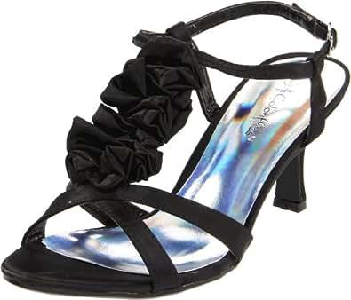 Coloriffics Women's Giselle Sandal,Black,7 M US