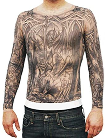 Amazon.com: Prison Break Michael Scofield Tattoo Shirt - Mens Small