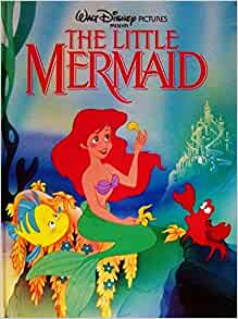 The little mermaid story book