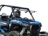 SuperATV Polaris RZR 900 / 900 S / 1000 / 1000 S / 1000 4 / Turbo Scratch Resistant Clear Flip Windshield (for Models Without Ride Command)