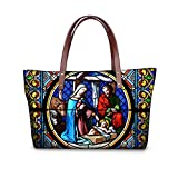 FOR U Designs Velvet Handbags Top-handle for Lady/women/young Girl (pattern4)