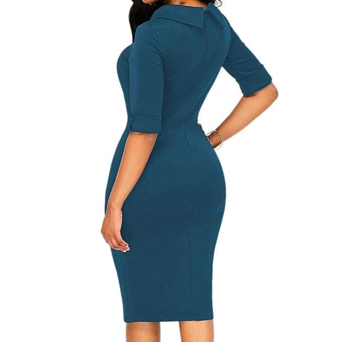 Faldas Largas Fiesta, Zolimx Vestidos Mujer Verano Elegante de Maxi Vestir Mangas Corta de para Playa Fiesta Vestidos 2018 Casual: Amazon.es: Deportes y ...