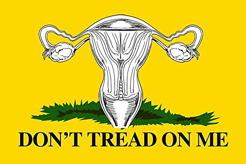 MAGNET Don'T Tread On My Uterus Magnet Decal Fridge Metal Magnet Window Vinyl 5