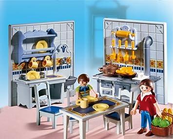 Playmobil 5317 Gemutliche Kuche Amazon De Spielzeug
