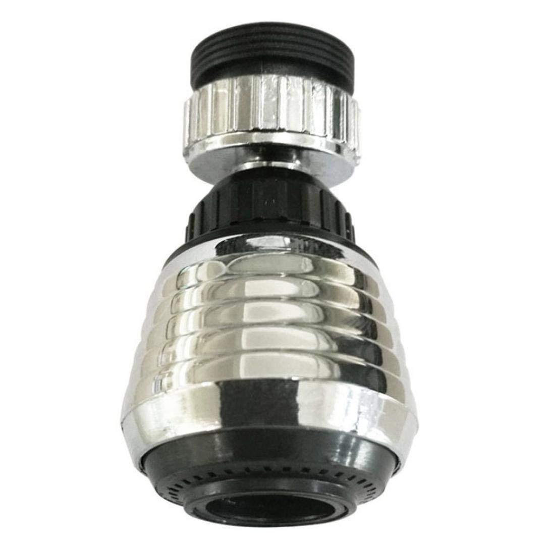 Inkach Faucet Sprayer - 360° Rotation Flexible Adjustable Kitchen Bathtub Sink Faucet Sprayer Water Filter Jet - Shower Heads Purifier (Silver)