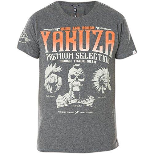 T-Shirt Yakuza YPS2114 Größe: L Farbe: grau