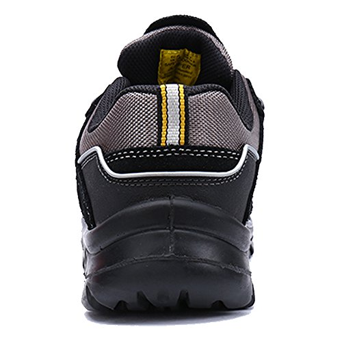 Safety For Shoe Black LARNMERN Toe Steel Work Men's OBdnX7Xpq