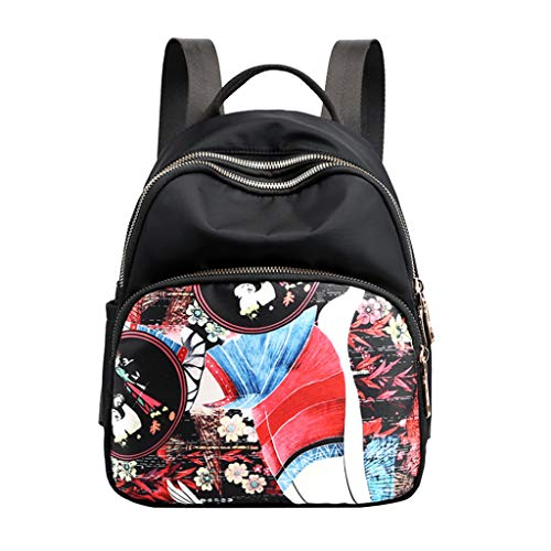 CCFAMILY Women's Fashion Nylon Waterproof Shoulder Messenger Crossbody Bags BackPacks (Julep Mug)