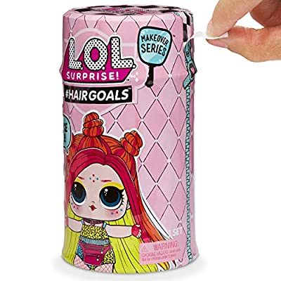 Giochi Preziosi LOL Surprise Hairgoals with Comb Hair, New Container and New Surprises: Toys & Games