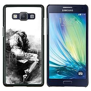 Stuss Case / Funda Carcasa protectora - Triste Llorando Depresión melancólica Heartbreak - Samsung Galaxy A5 A5000