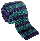 mens blue green ties - Retreez Vintage Smart Casual Men's 2