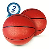 Pool Basketball 2-Pack – Ideal Water Basketballs For Safe Play – No Slip Grip – Two Balls Included