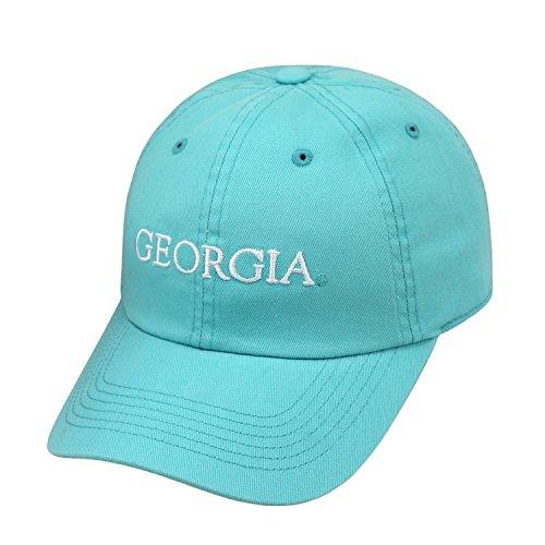 (Georgia Bulldogs Ladies Seaside Adjustable Hat-mint )