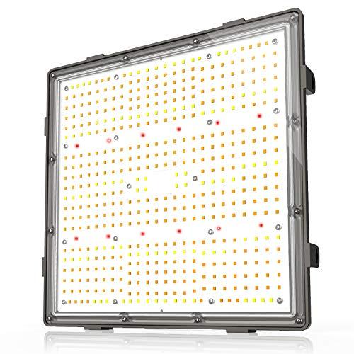 GROPLANNER 100W LED Grow Lights for Indoor Plants Full Spectrum Veg and Flower 500pcs LEDs 2.75 μmol/J UL Listed LED…