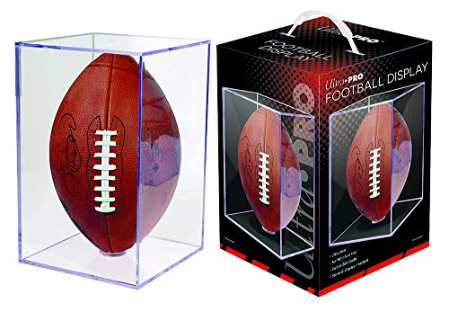 Ultra Pro Football Clear Square Holder (Autograph Football Case)