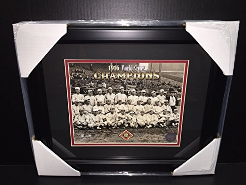 1916 BOSTON RED SOX WORLD SERIES CHAMPIONS 8X10 FRAMED PHOTO BABE RUTH TEAM