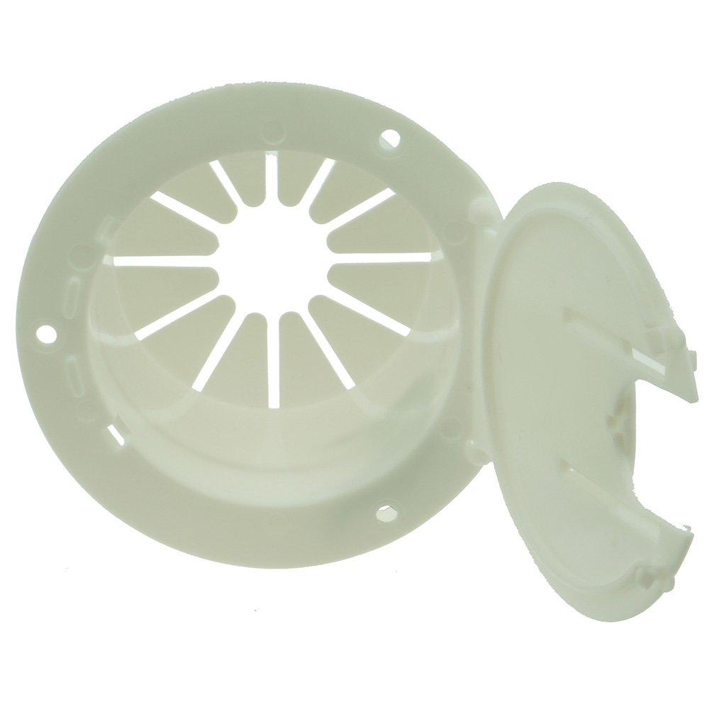 NU-SET RV011 White Electrical Cable Hatch