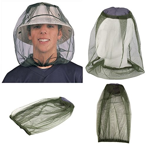 Vantoo Mosquito Mask-Mosquito Head Net Face Neck Protection-Anti Mosquito Anti-Bite Anti-Insect - Protection Mosquito Net Bug