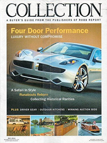 Robb Report & Collection A Buyer's Guide 2 Magazines New In Original Wrapper 2011 MERCEDES' FEROCIOUSLY EFFICIENT 2012 CLS63 - Guys In Africa South Hot
