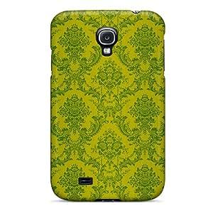 New Green Tapet Theme Tpu Case Cover, Anti-scratch FutureStarCase Phone Case For Galaxy S4