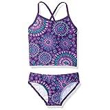 Kanu Surf Toddler Girls' Melanie Tankini Swimsuit, Purple, 4T