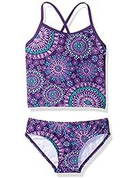 Girls' Melanie Beach Sport 2-Piece Banded Tankini Swimsuit