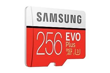 Samsung 256GB EVO Plus Class 10 UHS-I microSDXC U3 with Adapter (MB-MC256GA/EU) Read:up to 100MB/s,Write:up to 90MB/s ! <span at amazon