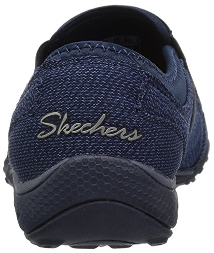 Easy 5 B Skechers23230 Azul US Mujer Azul Breathe Defiknit M 9 Marino 1ATqf