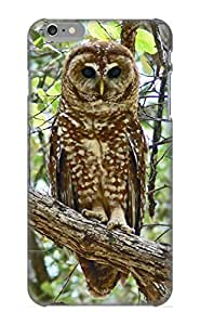 JCBOuC-1126-oHVJZ Tpu Phone Case With Fashionable Look For Iphone 6 - Animal Owl Case For Christmas Day's Gift