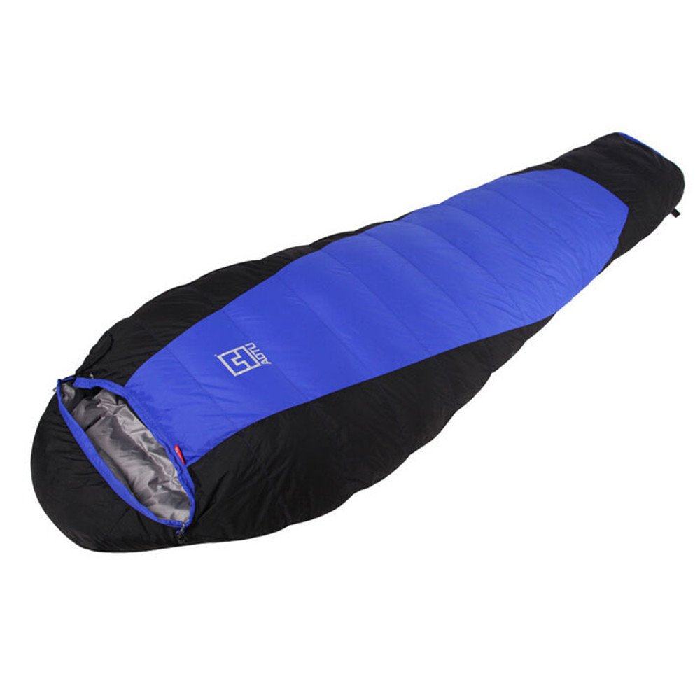 キャンプミイラの寝袋軽量ポータブル防水快適なコンプレッションサック - 2シーズンハイキングアウトドアアクティビティ B07C81L4HD