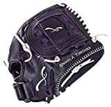 Insignia Aura FastPitch Catcher's Mitt with Closed Web (32.50-Inch, Navy)