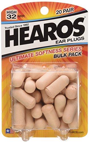 Hearos Ultimate Softness Series Foam Earplugs, 60-Pair