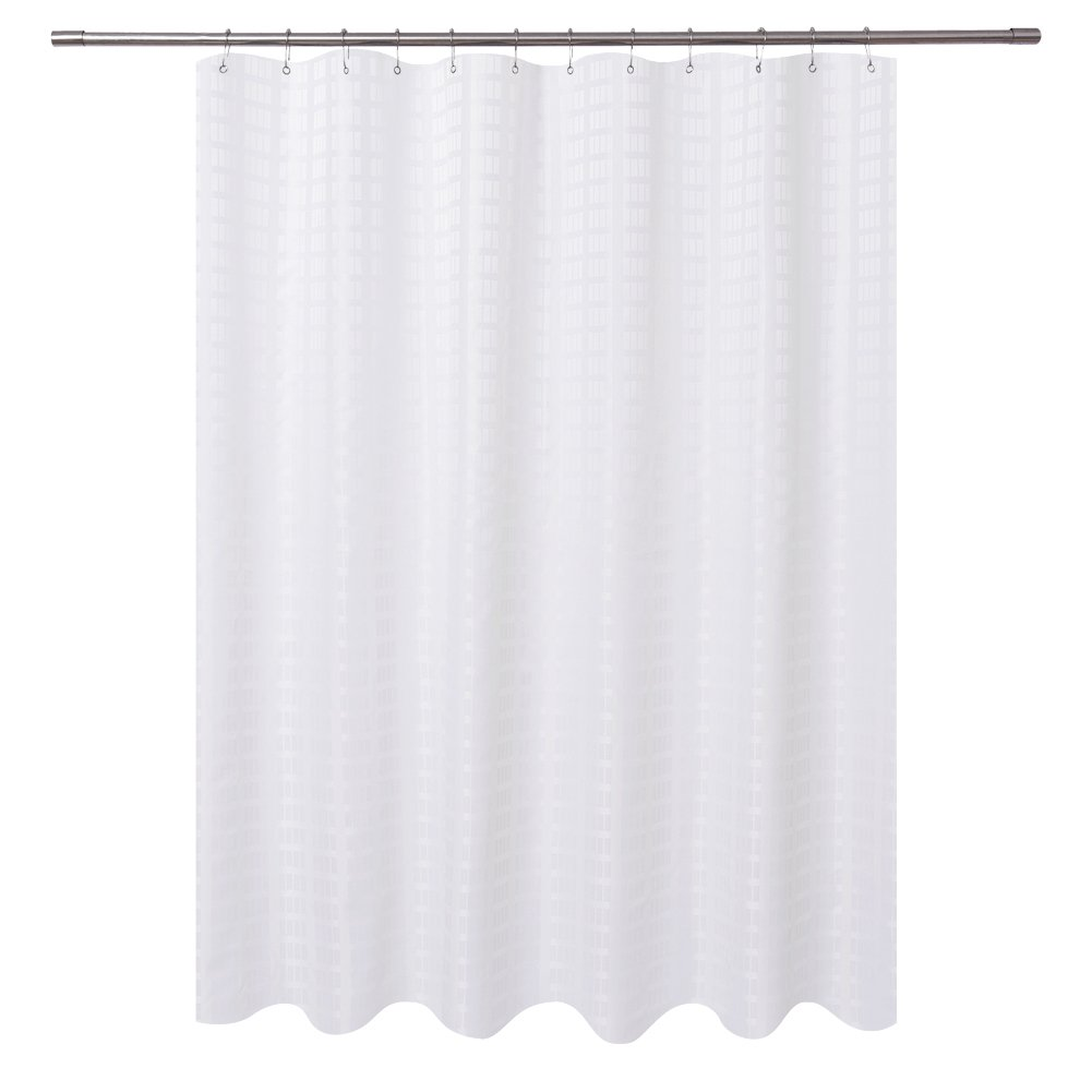Details About Barossa Design Fabric Shower Curtain White