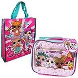 LOL Dolls Lunch Box and LOL Dolls Bag Bundle, Includes LOL Dolls Glitter