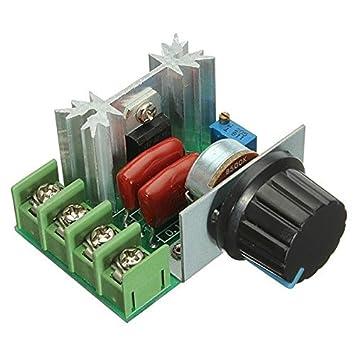 2000W 50V - 220V einstellbare Spannungsregler PWM: Amazon.de: Elektronik