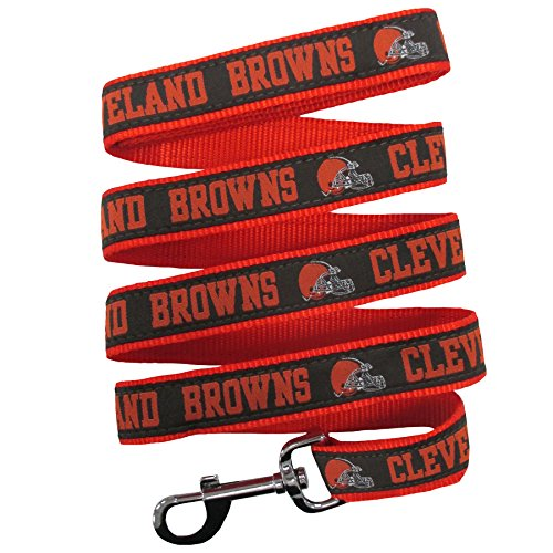 Pets First Cleveland Browns Pet Leash, Large