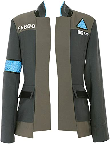 Amazon Com Cosplaydiy Men S Suit For Detroit Become Human Connor Cosplay Costume Clothing