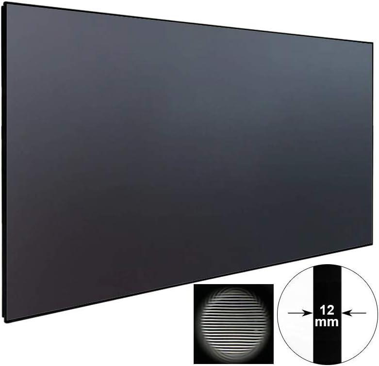 Amazon.com: Pantalla de tiro ultra corto UST y proyector de ...