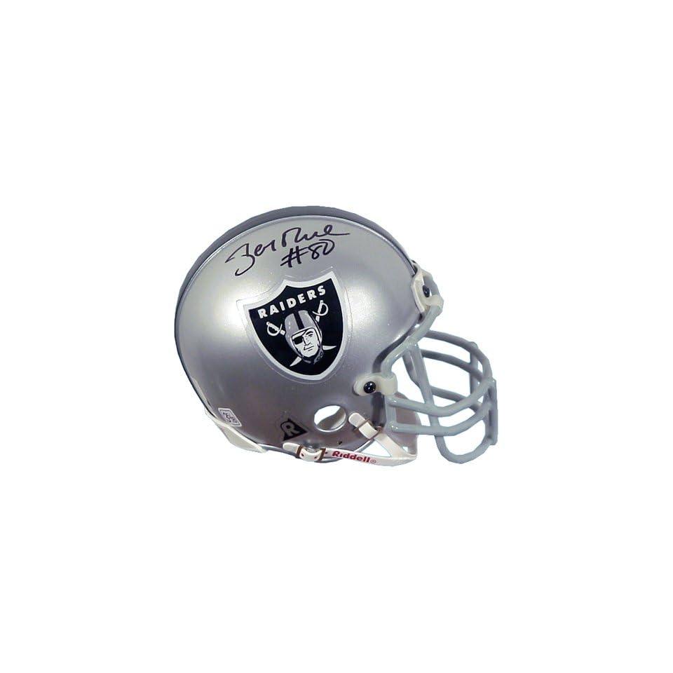 Mounted Memories Jerry Rice Autographed Mini Helmet
