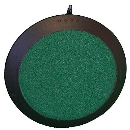 Deluxe 3 Inch Round Air Stone disk for Hydroponic Systems, Fresh Water & Saltwater Aquariums, Aquaculture, Terrariums!