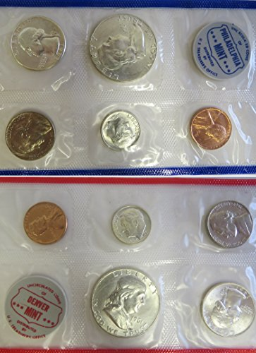 1961 Various Mint Marks Mint Set Perfect Uncirculated