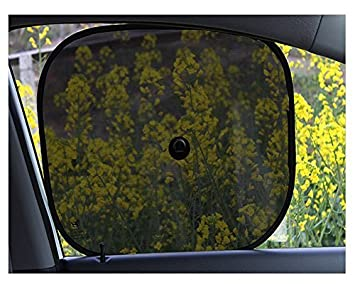 Milopon Car Window Shades Protector Cover Windscreen Car Windshield Visor Cover Car Sunshade Covers pack of 2