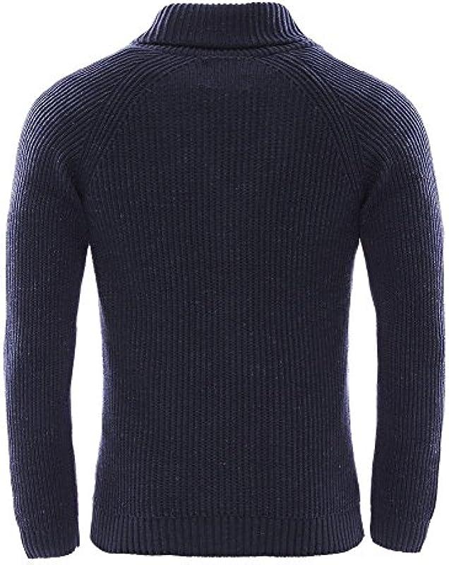 JACK & JONES VINTAGE męska kurtka z dzianiny Jjvorson Knit Shawl Cardigan - medium: Odzież