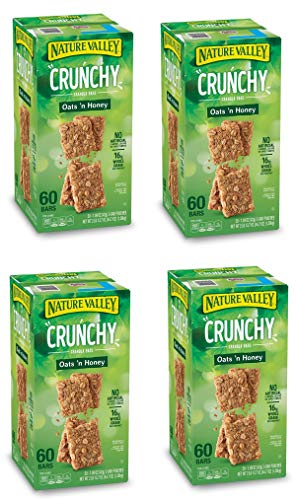Natures Valley granola bars, Crunchy Oats N Honey, 60 Bars (4 Boxes) by Nature Valley (Image #1)
